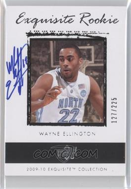 2009-10 Exquisite Collection #69 - Wayne Ellington /225