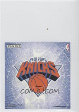 2009-10 Panini - Glow-in-the-Dark Team Logo Stickers #20 - New York Knicks