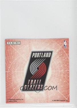2009-10 Panini - Glow-in-the-Dark Team Logo Stickers #25 - Portland Trail Blazers