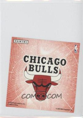 2009-10 Panini - Glow-in-the-Dark Team Logo Stickers #4 - Chicago Bulls