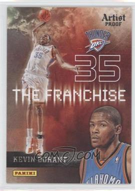 2009-10 Panini - The Franchise - Artist Proof #10 - Kevin Durant /199