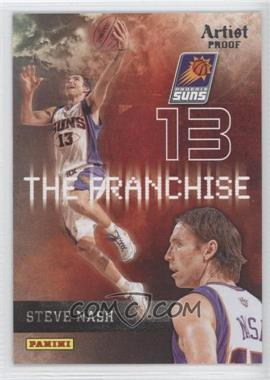 2009-10 Panini - The Franchise - Artist Proof #18 - Steve Nash /199