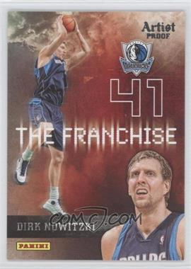 2009-10 Panini - The Franchise - Artist Proof #5 - Dirk Nowitzki /199