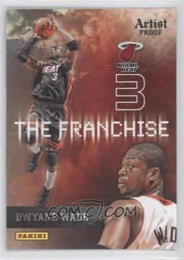 2009-10 Panini - The Franchise - Artist Proof #7 - Dwyane Wade /199