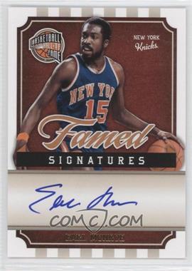2009-10 Panini Basketball Hall of Fame - Famed Signatures #EM - Earl Monroe /399