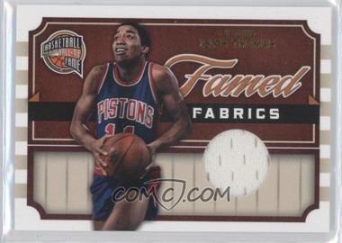 2009-10 Panini Basketball Hall of Fame Famed Fabrics #10 - Isiah Thomas /325