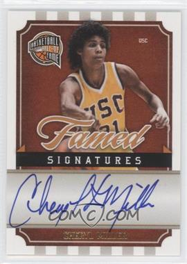 2009-10 Panini Basketball Hall of Fame Famed Signatures #CM - Cheryl Miller /499