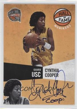 2009-10 Panini Basketball Hall of Fame Monikers #19 - Cynthia Cooper /294
