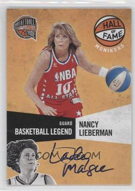 2009-10 Panini Basketball Hall of Fame Monikers #3 - Nancy Lieberman-Cline /198