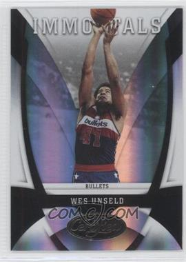 2009-10 Panini Certified - [Base] - Mirror Black #169 - Wes Unseld /1