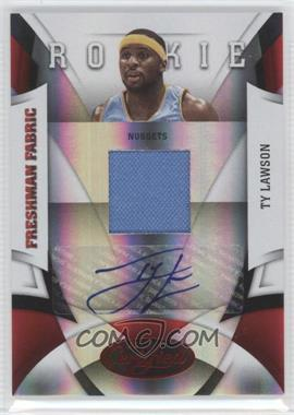 2009-10 Panini Certified - [Base] - Mirror Red #186 - Ty Lawson /100