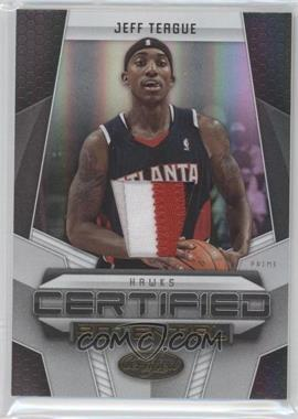 2009-10 Panini Certified - Certified Potential - Gold #30 - Jeff Teague /25