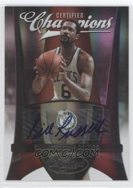 2009-10 Panini Certified Certified Champions Signatures [Autographed] #3 - Bill Russell /50