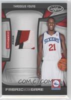Thaddeus Young /25