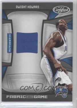 2009-10 Panini Certified Fabric of the Game #FOG-DH - Dwight Howard /250