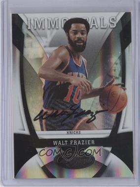 2009-10 Panini Certified Mirror Black Signatures [Autographed] #160 - Walt Frazier /1