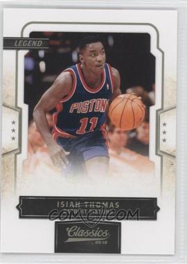 2009-10 Panini Classics - [Base] #149 - Isiah Thomas /999