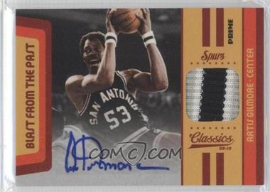 2009-10 Panini Classics Blast from the Past Jerseys Signature Prime [Autographed] #17 - Artis Gilmore /10