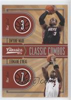 Dwyane Wade, Jermaine O'Neal /250