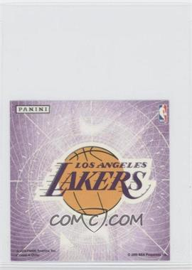 2009-10 Panini Glow-in-the-Dark Team Logo Stickers #13 - Los Angeles Lakers