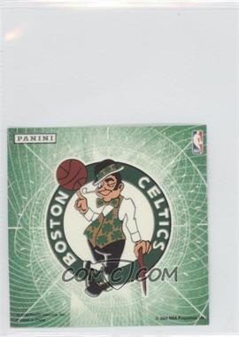 2009-10 Panini Glow-in-the-Dark Team Logo Stickers #2 - Boston Celtics