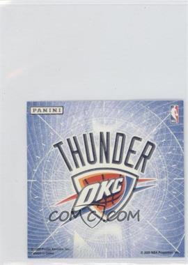 2009-10 Panini Glow-in-the-Dark Team Logo Stickers #21 - Oklahoma City Thunder
