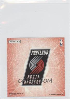 2009-10 Panini Glow-in-the-Dark Team Logo Stickers #25 - Portland Trail Blazers