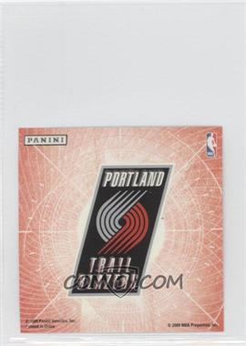 2009-10 Panini Glow-in-the-Dark Team Logo Stickers #25 - Portland Trail Blazers