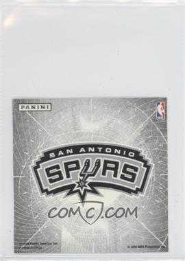 2009-10 Panini Glow-in-the-Dark Team Logo Stickers #27 - San Antonio Spurs