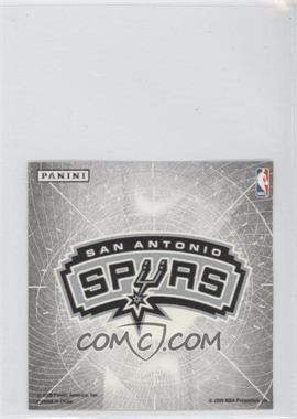 2009-10 Panini Glow-in-the-Dark Team Logo Stickers #27 - San Antonio Spurs