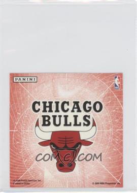 2009-10 Panini Glow-in-the-Dark Team Logo Stickers #4 - Chicago Bulls