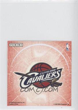 2009-10 Panini Glow-in-the-Dark Team Logo Stickers #5 - Cleveland Cavaliers