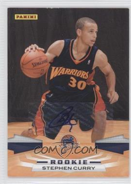 2009-10 Panini Inscriptions [Autographed] #307 - Stephen Curry