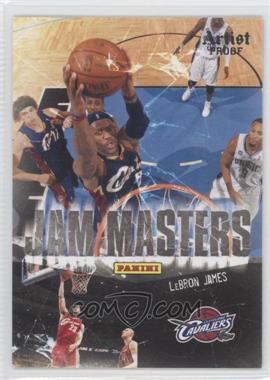 2009-10 Panini Jam Masters Artist Proof #4 - Lebron James /199