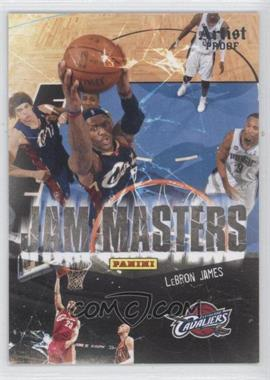2009-10 Panini Jam Masters Artist Proof #4 - Lebron James /199