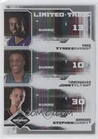 Stephen Curry, Tyreke Evans, Jonny Flynn /25