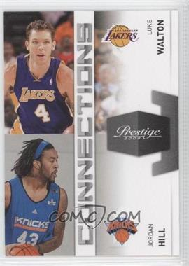 2009-10 Panini Prestige Connections #1 - Jordan Hill, Luke Walton