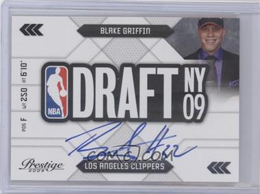 2009-10 Panini Prestige NBA Draft Class Signatures #1 - Blake Griffin