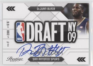 2009-10 Panini Prestige NBA Draft Class Signatures #32 - DeJuan Blair