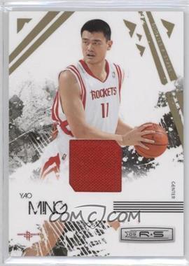 2009-10 Panini Rookies & Stars - [Base] - Materials [Memorabilia] #31 - Yao Ming /250