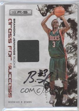 2009-10 Panini Rookies & Stars - Dress for Success Materials - Signatures [Autographed] #9 - Brandon Jennings /25