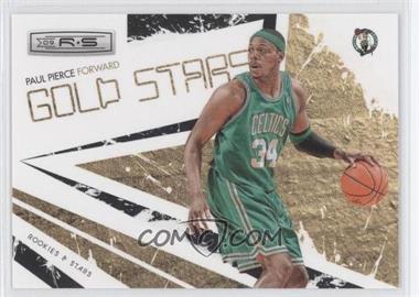 2009-10 Panini Rookies & Stars - Gold Stars - Black #15 - Paul Pierce /100