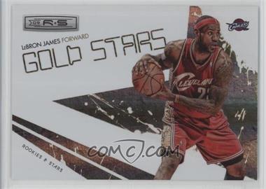 2009-10 Panini Rookies & Stars - Gold Stars - Holofoil #3 - Lebron James /250