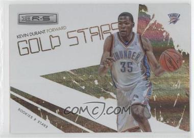 2009-10 Panini Rookies & Stars - Gold Stars - Holofoil #6 - Kevin Durant /250