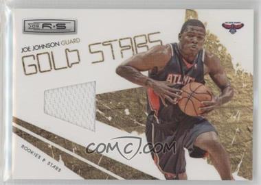 2009-10 Panini Rookies & Stars - Gold Stars - Materials [Memorabilia] #11 - Joe Johnson