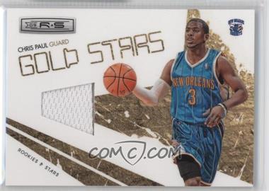 2009-10 Panini Rookies & Stars - Gold Stars - Materials [Memorabilia] #7 - Chris Paul