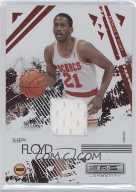 2009-10 Panini Rookies & Stars - Longevity - Ruby Materials [Memorabilia] #115 - Sleepy Floyd /250
