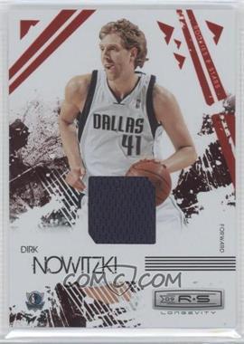 2009-10 Panini Rookies & Stars - Longevity - Ruby Materials [Memorabilia] #17 - Dirk Nowitzki /250