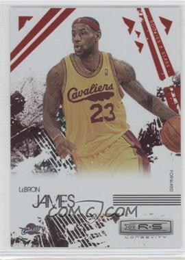 2009-10 Panini Rookies & Stars - Longevity - Ruby #14 - Lebron James /250