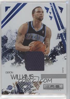 2009-10 Panini Rookies & Stars - Longevity - Sapphire Materials #93 - Deron Williams /25